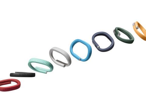 Tracking armbåndet: Jawbone UP
