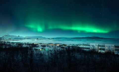 Pressinbjudan: Välkommen till ett annorlunda spadtag för Brf Fjällvyn i Kiruna