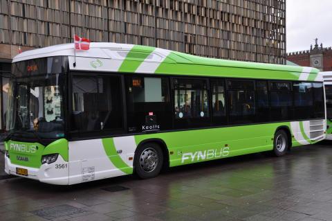 Seks nye Scania Citywide hybridbusser til Keolis