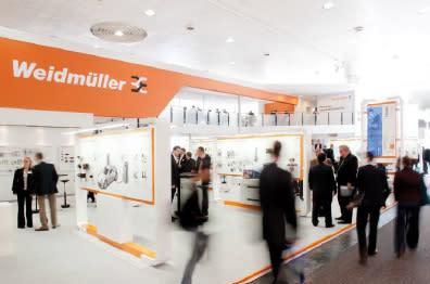 Imponerande design hos Weidmüller. Let´s connect.