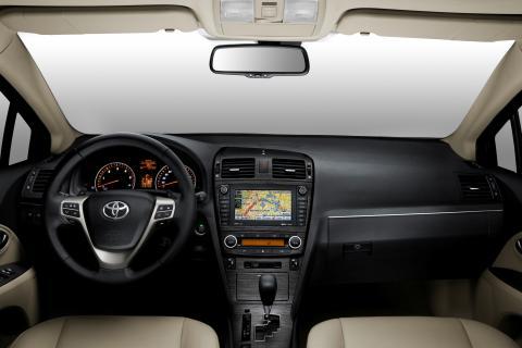 Toyota Avensis interiör Paris Motor Show 2008