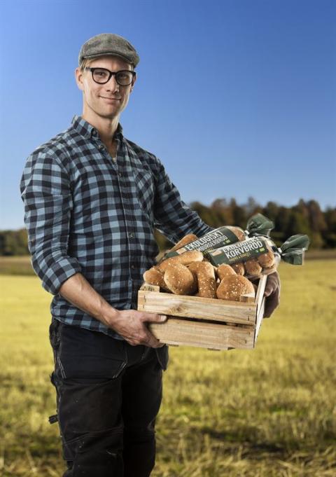 35523 Ekologiskt Korv- Hamburgerbröd skärm