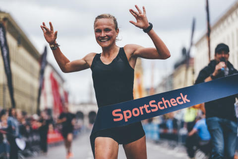 Im letzten Jahr holte Anna Hahner den Sieg auf der Halbmarathon-Strecke.