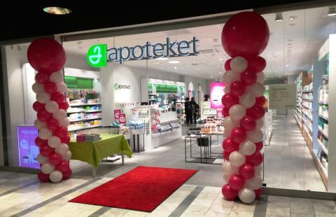 Apoteket öppnar nytt i Malmö