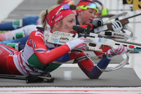 Emilie Kalkenberg,skytebane,stafett ungdom kvinner,junior-vm 2016