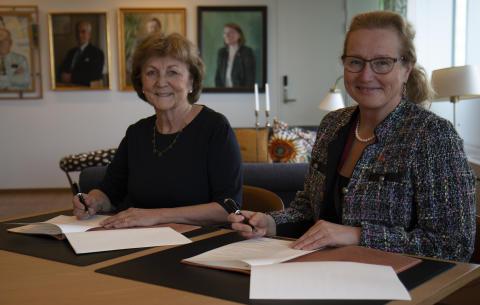 Nytt samarbetsavtal ska stärka Uppsala universitets utveckling