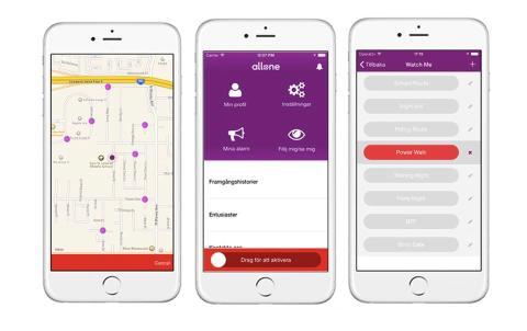 Smartphone blir gratis trygghetslarm med appen Allone