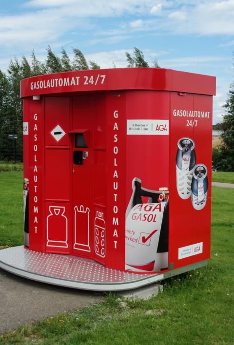 AGAs gasolautomat Ramlösa, Helsingborg