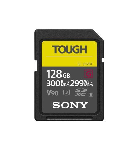 Sony lanceert zeer robuuste en snelle SD-kaart