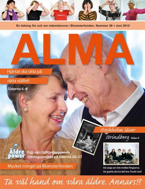 Blomsterfondens medlemstidning Alma, nr 38