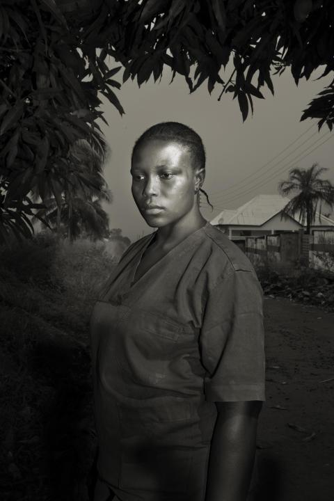 Ebola Survivors, fot. Marcello Bonfanti
