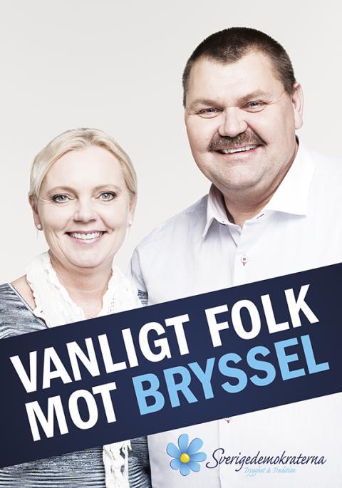 """Mindre EU - Mer Sverige"" - Sverigedemokraternas valmanifest i EU-valet"