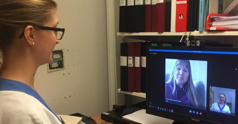 Akademiska pionjär på videomottagning för transplanterade patienter