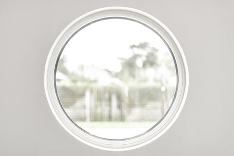 Elitfönster Flexibel - fastkarm rund inne