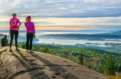 55 flotte turer i Oslomarka og omegn