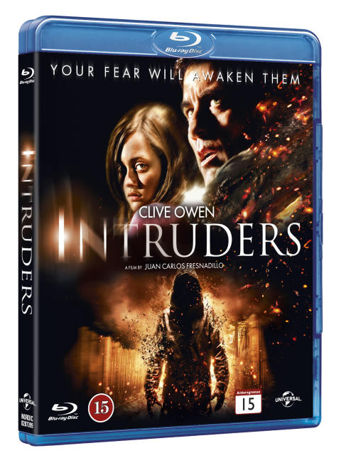 The Intruders Packshot Blu-ray