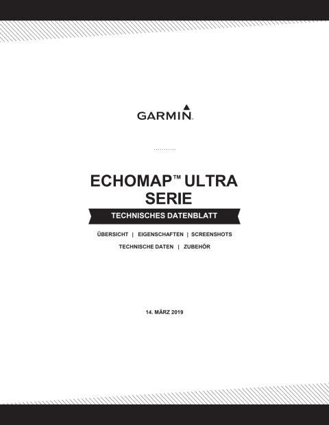 Datenblatt ECHOMAP Ultra