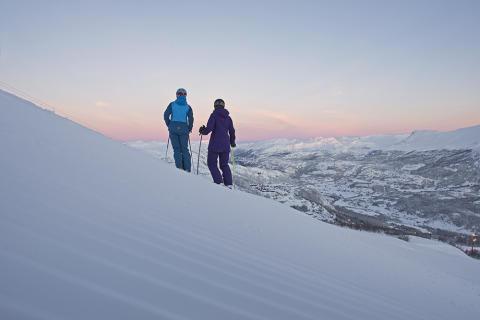 Skifahren in Hemsedal