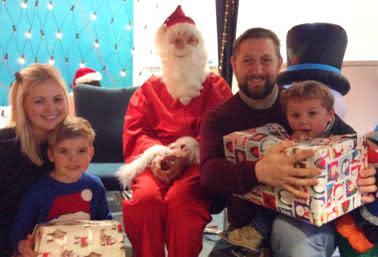 ellenor brings festive fun to families