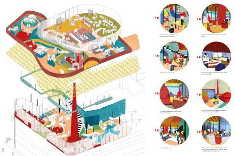 Framtidens arkitektur – årets examensarbeten från svenska arkitekturhögskolor på Konstakademien