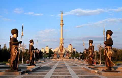 April - Ashgabat, Turkmenistan