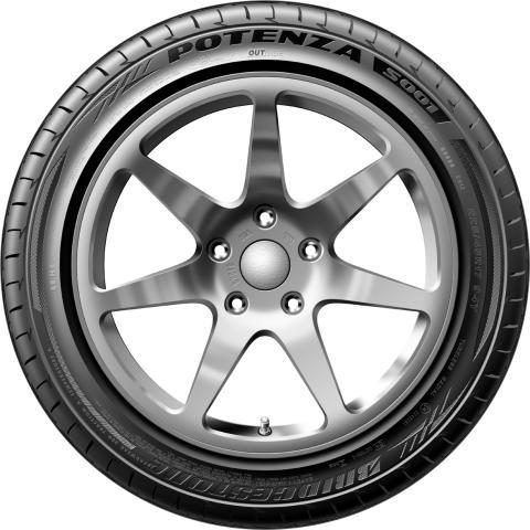 Bridgestone Potenza S001_Side