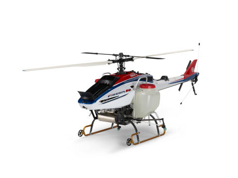 "Yamaha Motor: ""Competitive Agriculture""  with FAZER R Industrial Unmanned Helicopter"