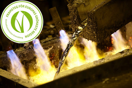 Stena Aluminiums miljöarbete får grön stämpel