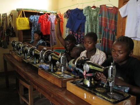 Kongo - Rehabiliteringscentret Dorkas för våldtagna kvinnor