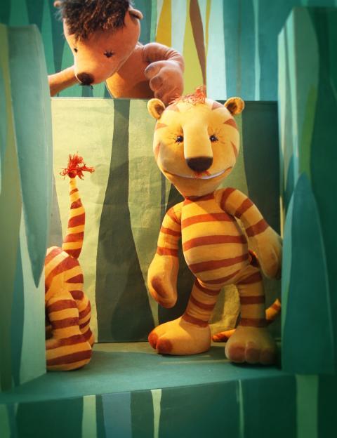 Premiär Lilla Tiger & lyckans land på Dockteatern Tittut