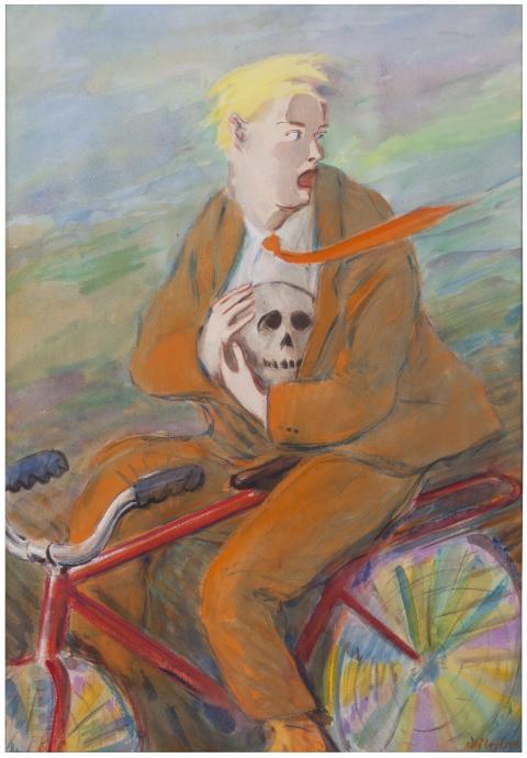 Pressvisning av vårens utställningar på Nordiska Akvarellmuseet