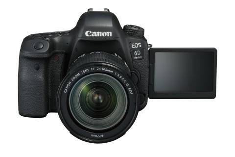 Canon juhlistaa globaalisti jo 15. vuotta peräkkäin ykkössijaa järjestelmäkameroiden markkinoilla
