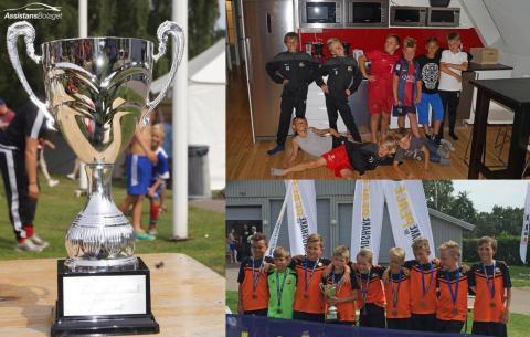 Assistansbolaget rycker in och hjälper fotbollslag