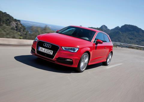 Fem stjärnor till nya Audi A3 i Euro NCAP