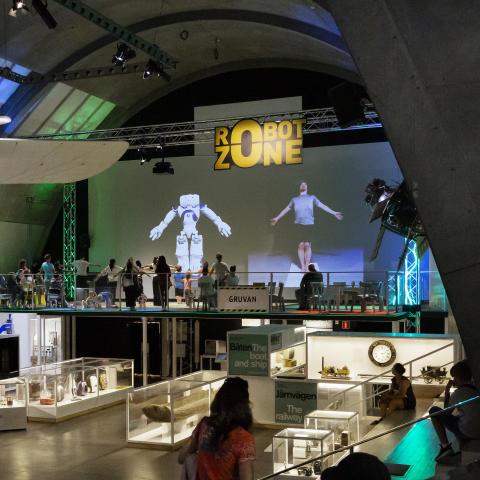 Robot Zone på Tekniska museet