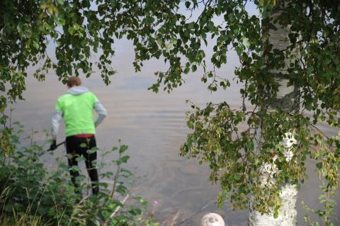 Älvstädningen tjuvstartar i Leksand