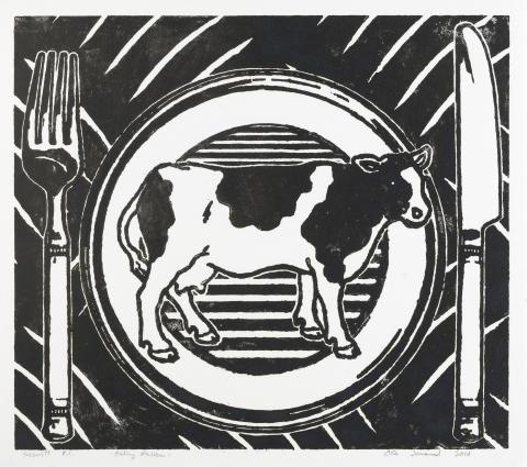 Avtrykk. Ola Jonsrud, Eating Pattern, 2010.