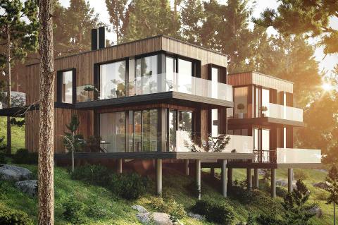 Eklund Stockholm New York lanserar Saltsjölunden, Saltsjöbaden - Unikt boende med lyxig design, en känsla av internationellt snitt och högsta möjliga livskvalité
