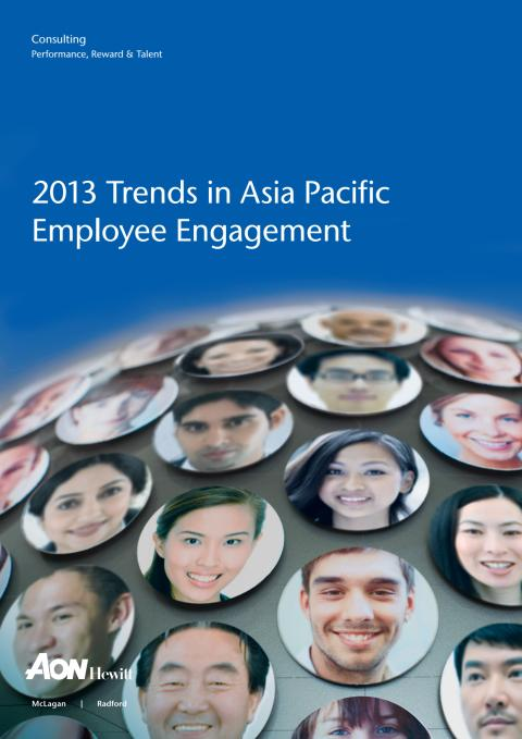 2013 Trends in Asia Pacific Employmee Engagement
