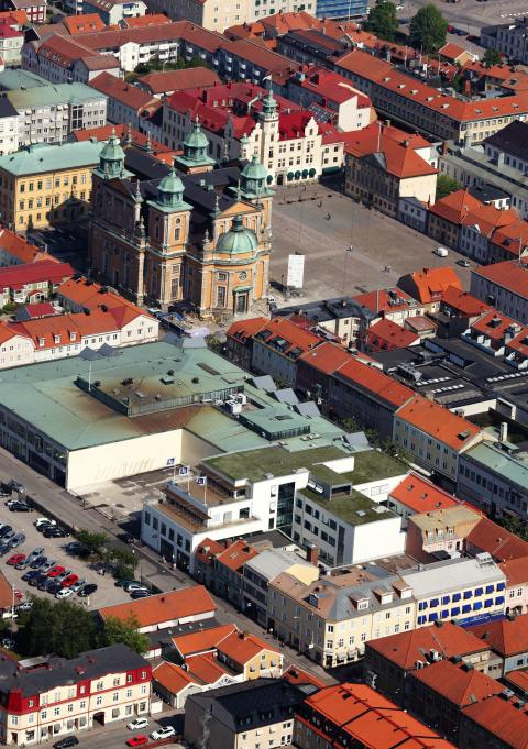 Nya huvudkontoret för Länsförsäkringar Kalmar län först i Norden med LEED-certifiering på platinanivå