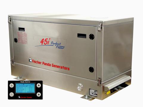 Hi-res image - Fischer Panda UK - Fischer Panda UK's Panda 45i variable speed generator