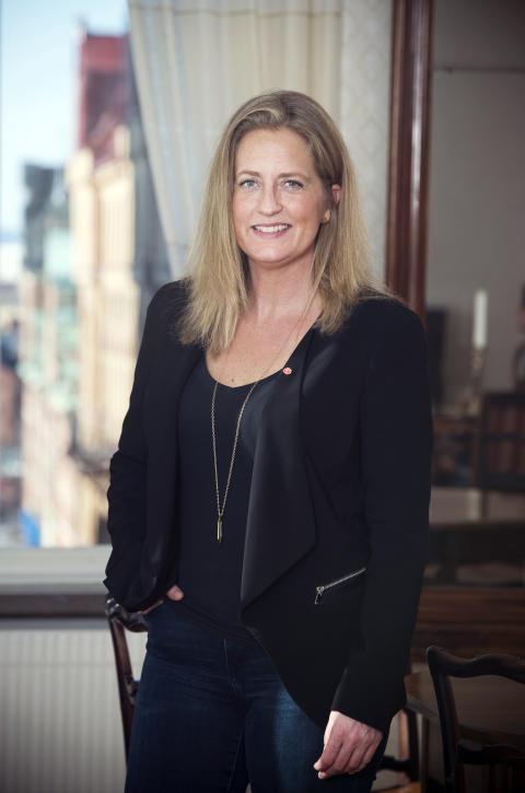 Jessica Ekerbring (S) Kommunalråd. Fotograf Ulla-Carin Ekblom