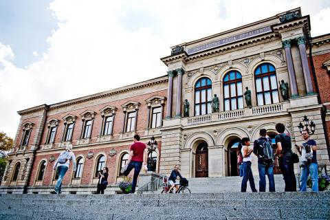 Norlie & KKV till studentevenemang i Universitetsparken