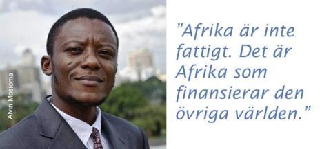 Skatteflykt hindrar utvecklingen i Afrika