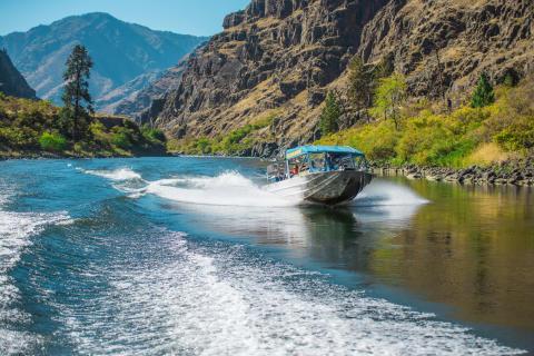 Jet Boating Idaho