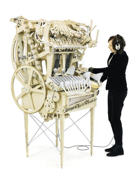 martin molin marble machine