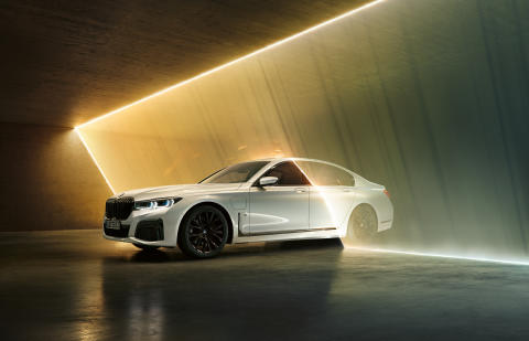 Nya BMW 745e