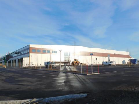Martin & Servera inviger nytt klimatsmart lager i Umeå