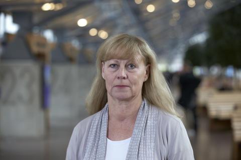 Lena Jovén, chef stabskommunikation