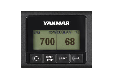Hi-res image - YANMAR - The new YANMAR YD25 LCD Switch Panel Display